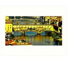 Ponte Vechhio Art Print
