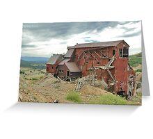 Victor Colorado Mine Greeting Card