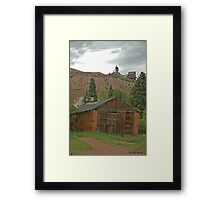 Colorado Memories  Framed Print