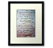 Klein-Gordon Equation Calculations In De Sitter Spacetime Framed Print