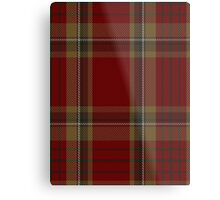 00358 Tyrone County District Tartan  Metal Print