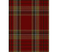 00358 Tyrone County District Tartan  Photographic Print