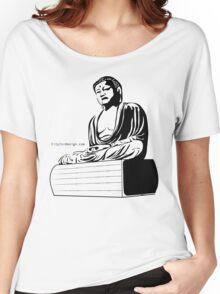 Meditating Buddha Women's Relaxed Fit T-Shirt