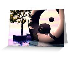 Waterworld dream Greeting Card