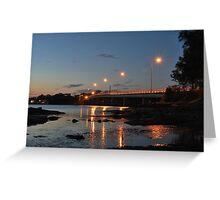 Bridgeview. Greeting Card