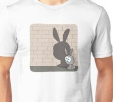 3-O & Rabbit - Rabbit Shadow Unisex T-Shirt
