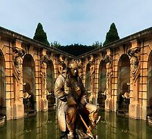 Blenheim Statues by Yampimon