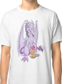 Lilac dragon with orb Classic T-Shirt