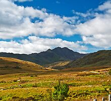 Looking towards Snowdon by Carlb40