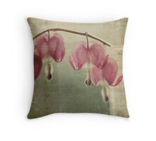 """""""The heart has its own language. The heart  knows a hundred thousand ways to speak""""  Rumi Throw Pillow"""