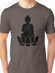 Buddha on a Lotus Unisex T-Shirt