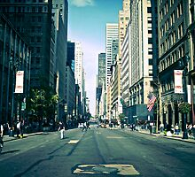 5th Avenue by Rupert Hitchcox