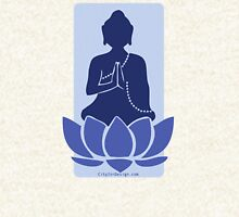 Meditating Buddha - blue Hoodie