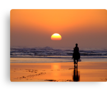 The End of The Day! Canvas Print