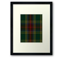 00361 Waterford County District Tartan Framed Print