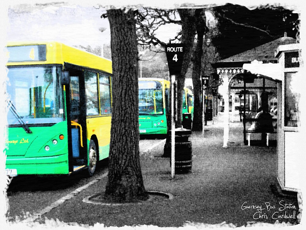 Guernsey Buses by Chris Cardwell