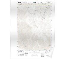 USGS Topo Map Oregon Silver Butte 20110801 TM Poster