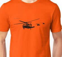 Helicopters in Action Unisex T-Shirt