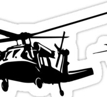 Helicopters in Action Sticker
