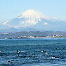 Mt Fuji & Surfers by mjds