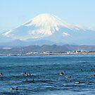 Mt Fuji & Surfers by mjds
