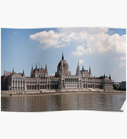 Parliament buildings, Budapest Poster