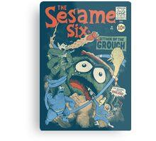 The Sesame Six Metal Print