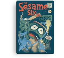 The Sesame Six Canvas Print