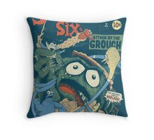 The Sesame Six Throw Pillow
