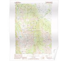 USGS Topo Map Oregon Chief Joseph Mtn 279333 1990 24000 Poster