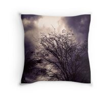 Summer Storm. Throw Pillow