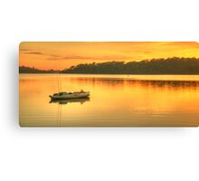 Drifting Away - Narrabeen Lakes, Sydney Australia - The HDR Experience Canvas Print