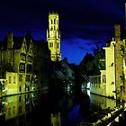 Bruges by Night by Matt Becker