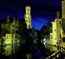 Bruges by Night by Matt Becker