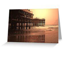 Crystal Pier  San Diego,Ca Greeting Card