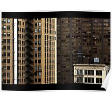 Chicago Loop View Poster