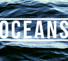 Oceans Sticker