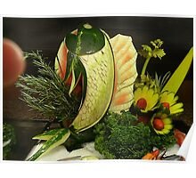 Fruit Herb Center Piece Poster