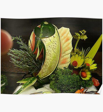 Fruit Herb Center Piece Poster