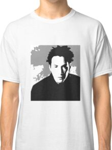 Keanu Reeves in the Matrix, Grey Color Classic T-Shirt