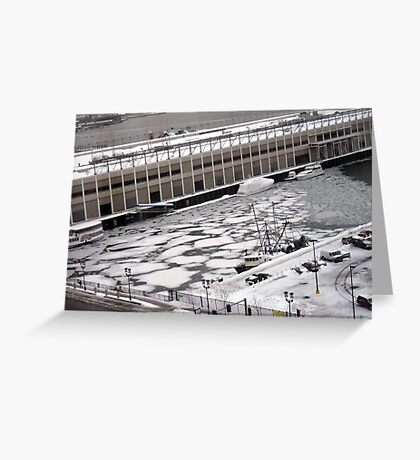 That Cold Water in Boston Greeting Card