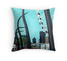 Brisbane Wheel Throw Pillow
