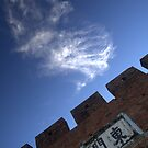 east gate with cloud by Ryan Bird