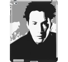 Keanu Reeves in the Matrix, Grey Color iPad Case/Skin