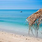 Parasol on Ko Lanta by Kerry Dunstone