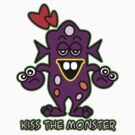Kiss the monster! by Maria  Gonzalez