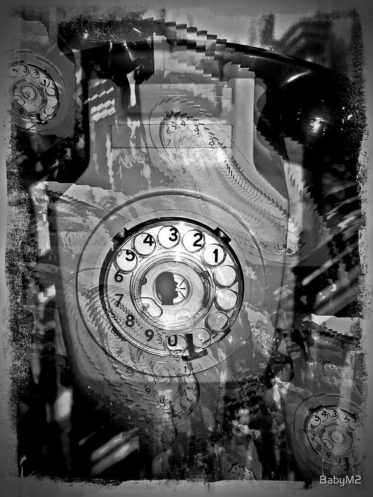 A silent telephone   sssssssssssss by BabyM2