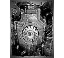 A silent telephone   sssssssssssss Photographic Print