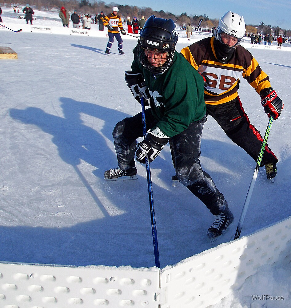 Pond Hockey - Hockey Players by WolfPause