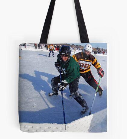 Pond Hockey - Hockey Players Tote Bag